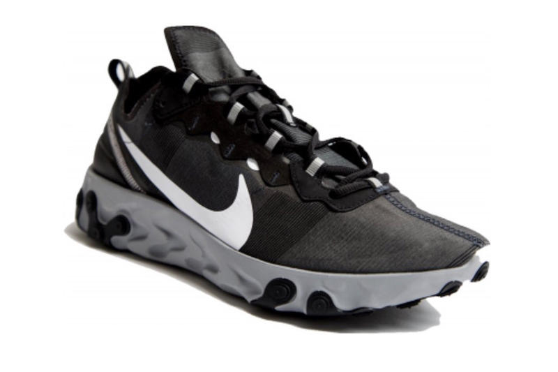 Nike React Element 55 2018 november december footwear nike sportswear Holiday Release Black Red