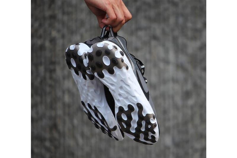 Nike React Element 87 Look White Black Jun Takahashi UNDERCOVER