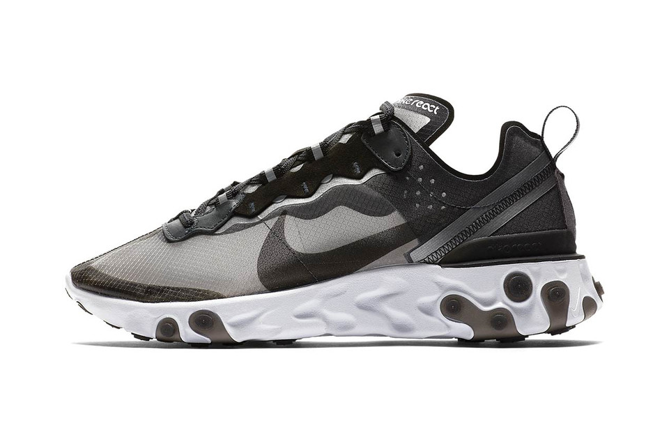 The Futuristic Nike React Element 87 Gets a Closer Look