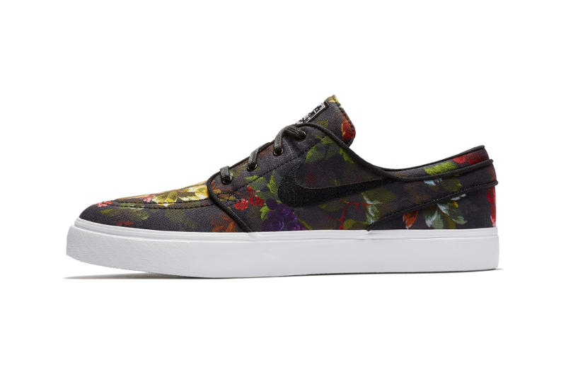 sports shoes a880a ae968 Nike SB Zoom Stefan Janoski Floral Canvas Release Date sneaker price  skateboarding