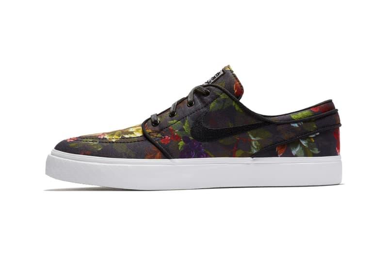 02a4dd79e667 Nike SB Zoom Stefan Janoski Floral Canvas Release Date sneaker price  skateboarding