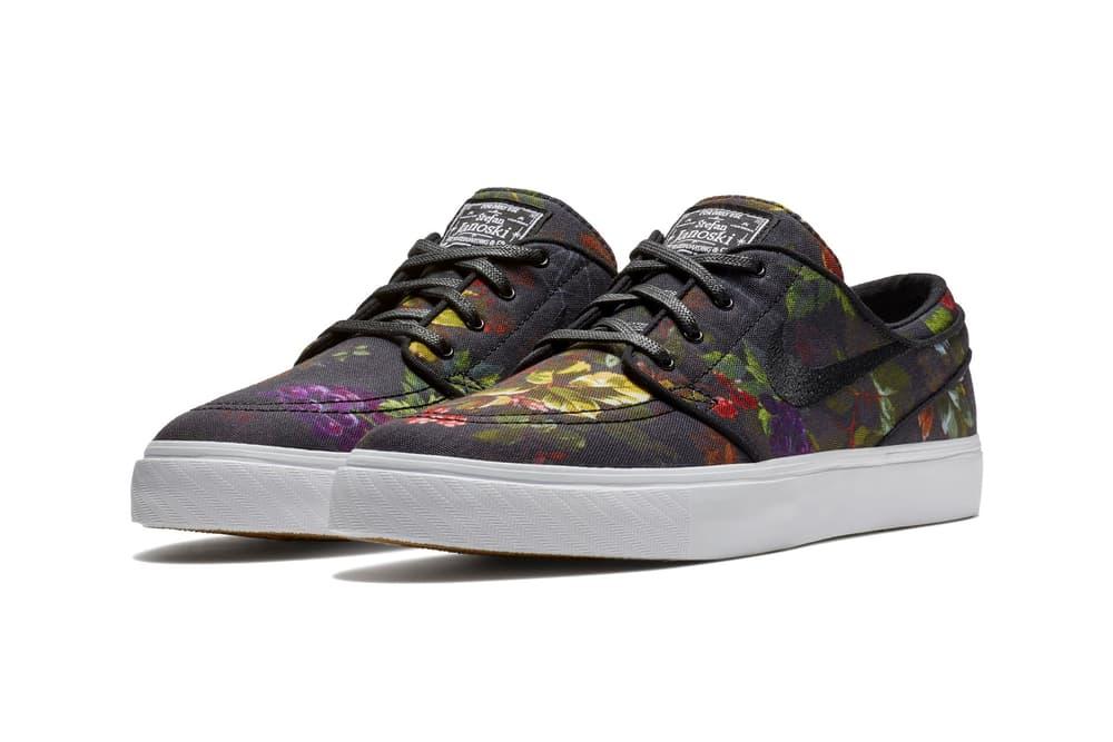 Nike SB Zoom Stefan Janoski Floral Canvas Release Date sneaker price skateboarding