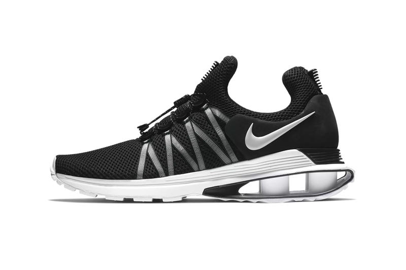Nike Shox Gravity New Colorways Release date summer 2018 sneaker all black all white