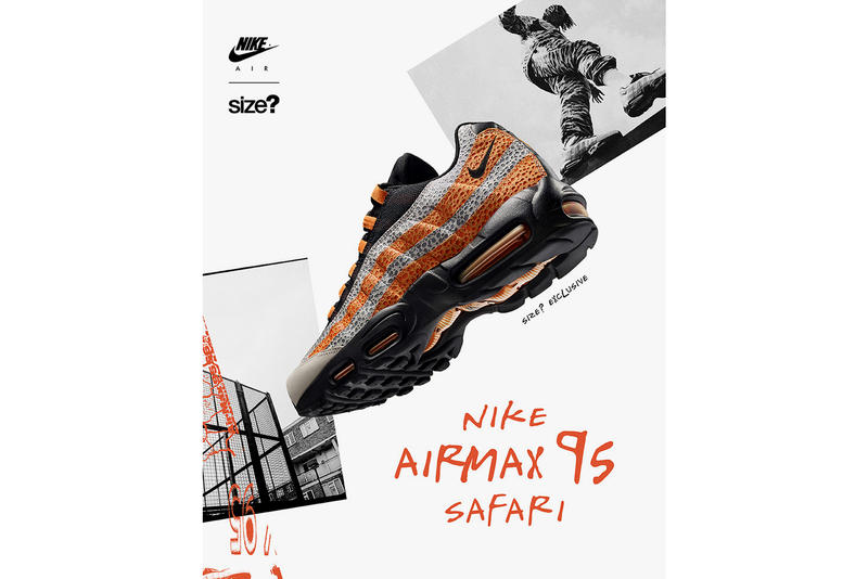 arrives ce607 35714 Nike Air Max 95 Safari Release Details Tinker Hatfield Ostrich Skin Grey  Black Orange