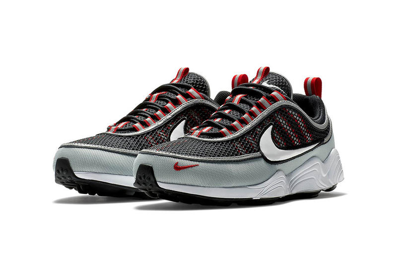 6e10a82d3867 nike zoom spiridon black grey white red june july 2018 release date info  drop sneakers shoes