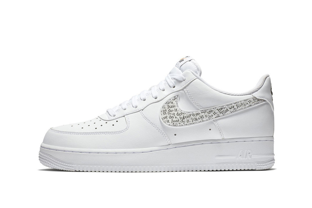 "d3927d1a407 Nike s Air Force 1 Low Is the Latest Model to Join The ""Just Do It"" Pack"