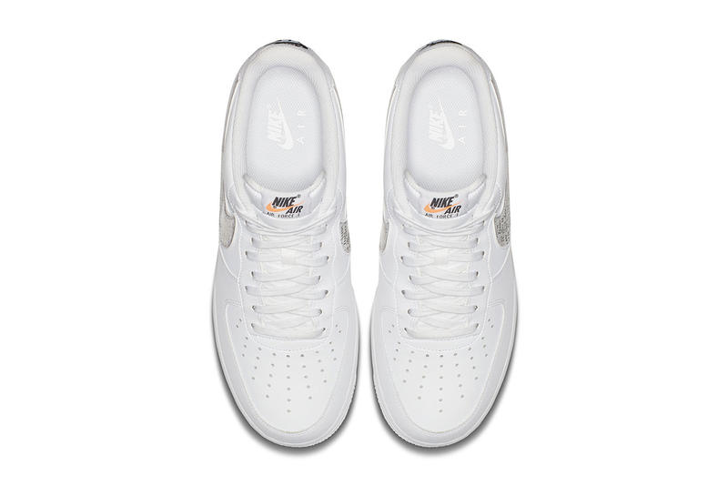 Nike Air Force 1 Low Just Do It pack white leather footwear sneakers