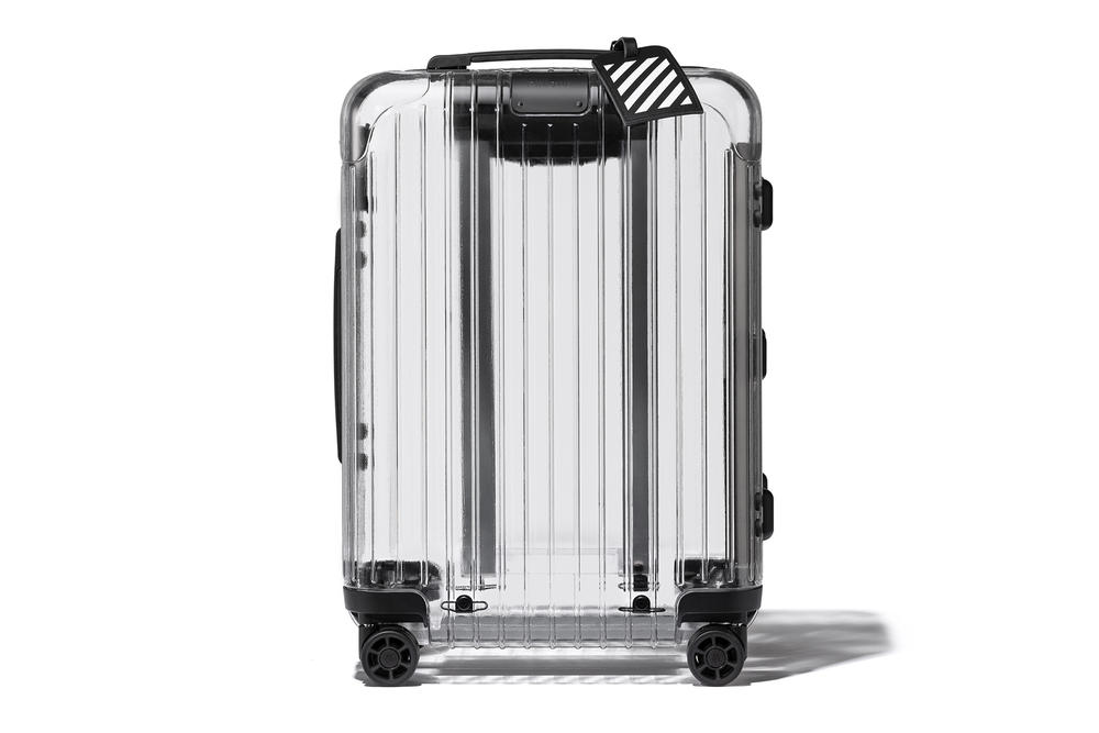 off-white Rimowa Virgil Abloh Essential Rethought Product Line Launch
