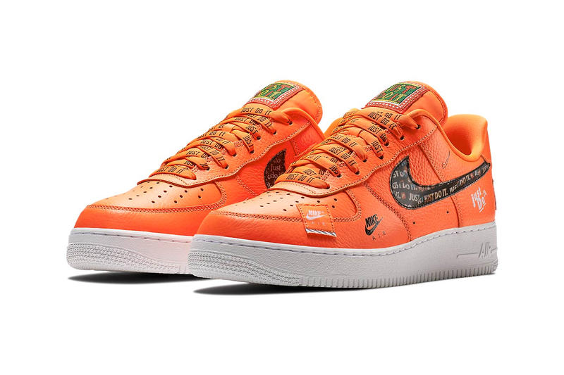 nike air force 1 just do it patch nike air logo