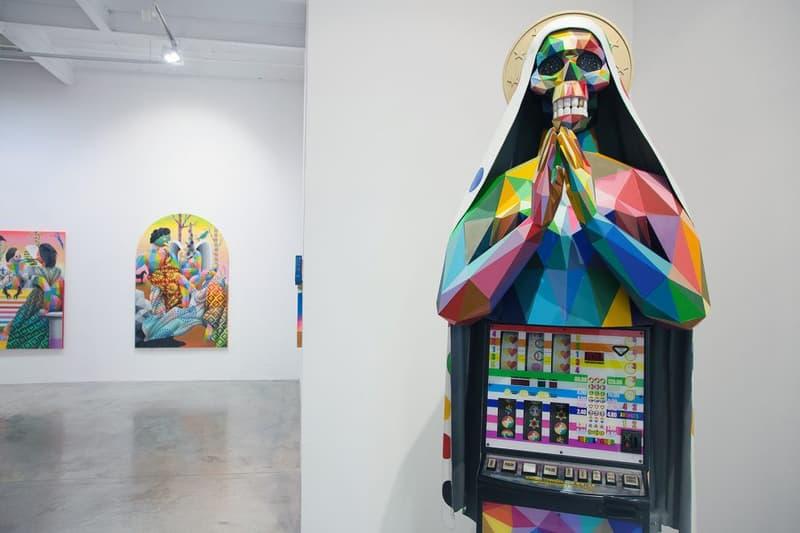 Okuda San Miguel No religions in the sky Exhibition june 2018
