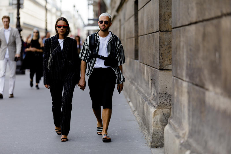street style snap paris fashion week spring summer 2019