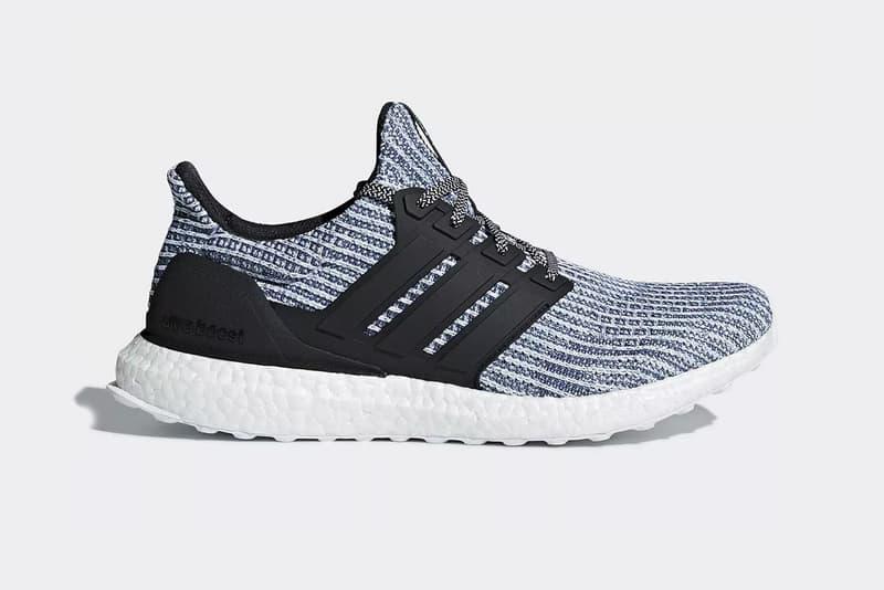 Parley adidas UltraBOOST 4 0 Carbon Blue june 27 2018 release date info drop sneakers shoes footwear
