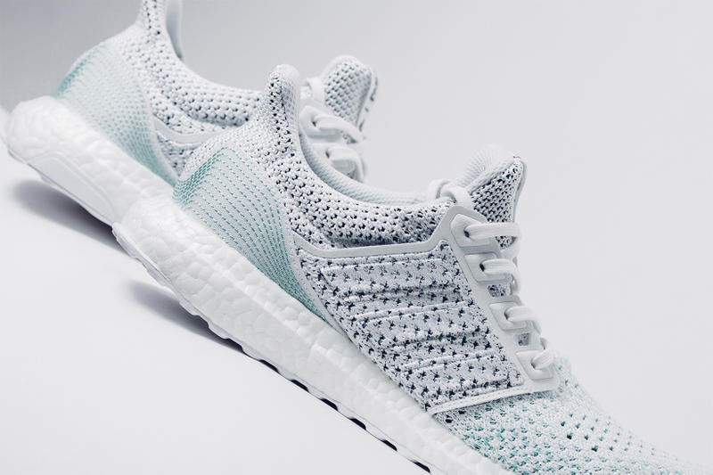 Parley adidas UltraBOOST 4 0 LTD available now footwear 2018 june white blue