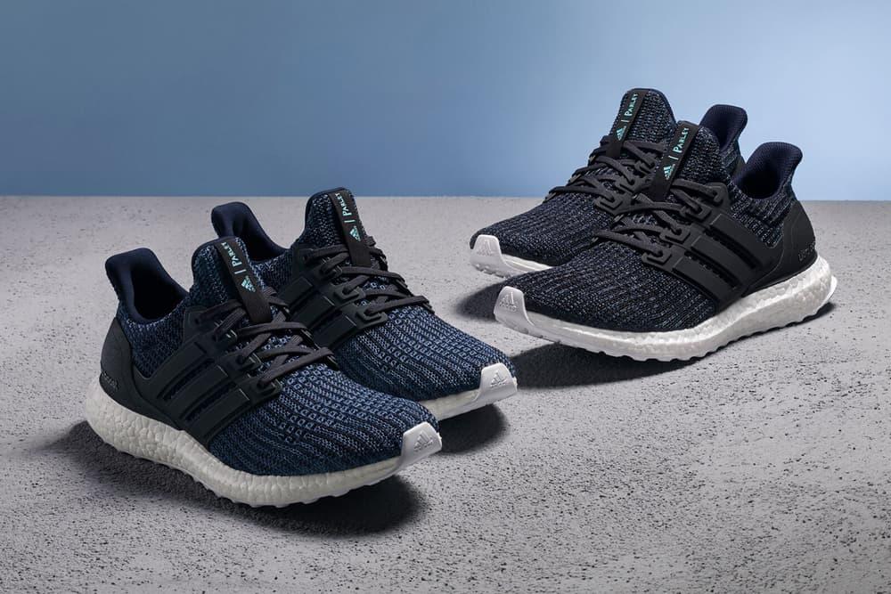 Parley adidas UltraBOOST Deep Ocean Blue june 2018 release date info drop sneakers shoes footwear