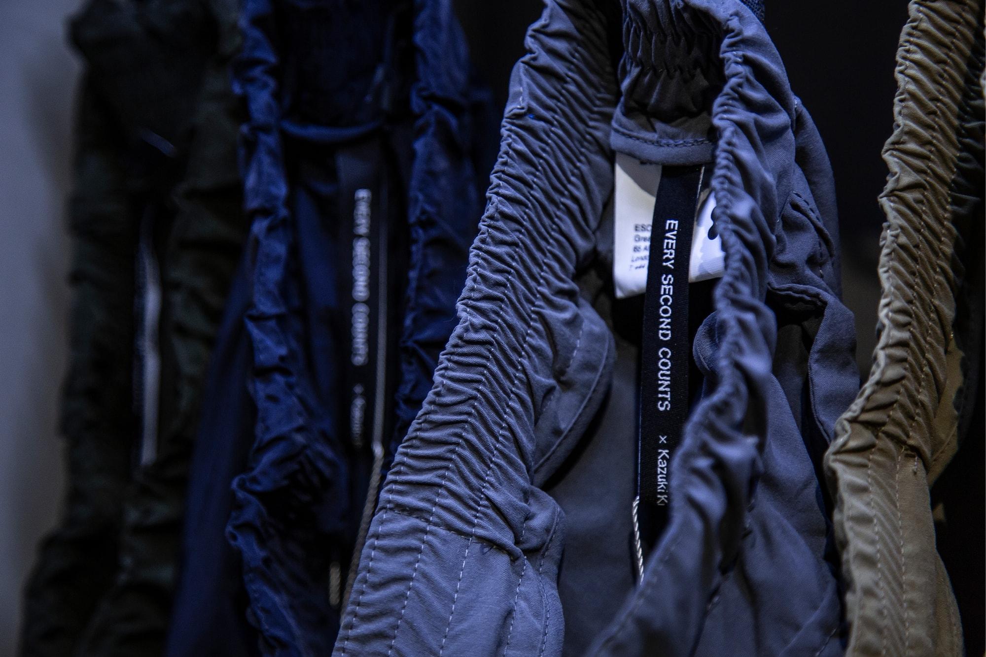 A Conversation with Kazuki Kuraishi x ESC Every Second Counts Japan Tokyo Streetwear Nigo Hiroshi Fujiwara Hokkaido A Bathing Ape adidas NBHD Shinsuke Takizawa WTAPS A.Four Labs Fourness Heather Grey Wall