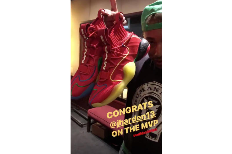 adidas Basketball Crazy BYW X MVP  13 first look red preview Sneakers Shoes Footwear BOOST