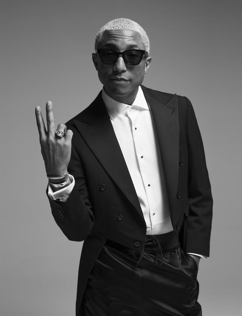 Pharrell Williams Brigitte Lacombe Vogue Italia editorial italy june 2018