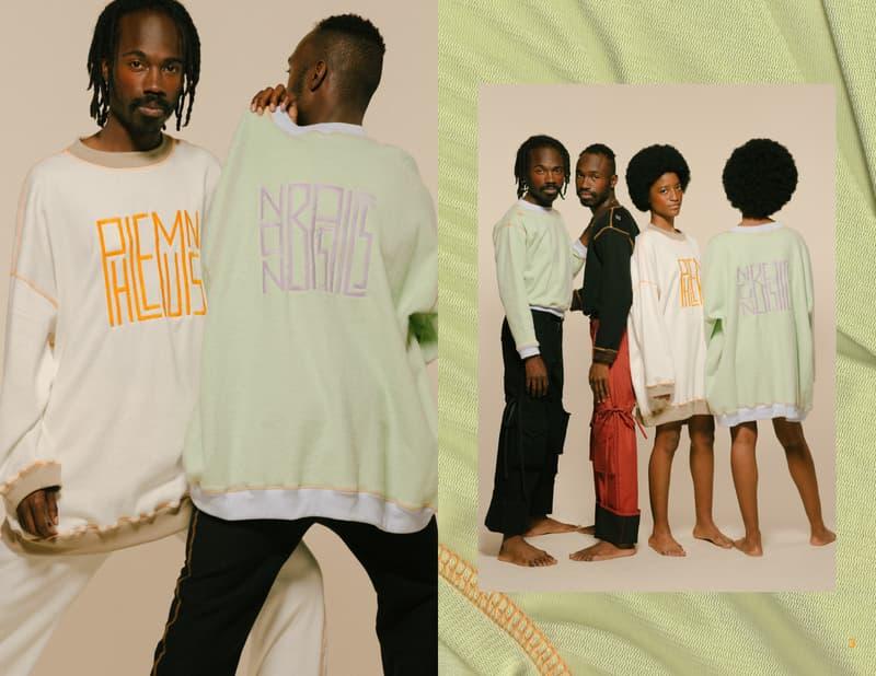 PHLEMUNS NON BASICS Collection Lookbook fashion streetwear unisex Solange, Kelela, Dev Hynes, SZA