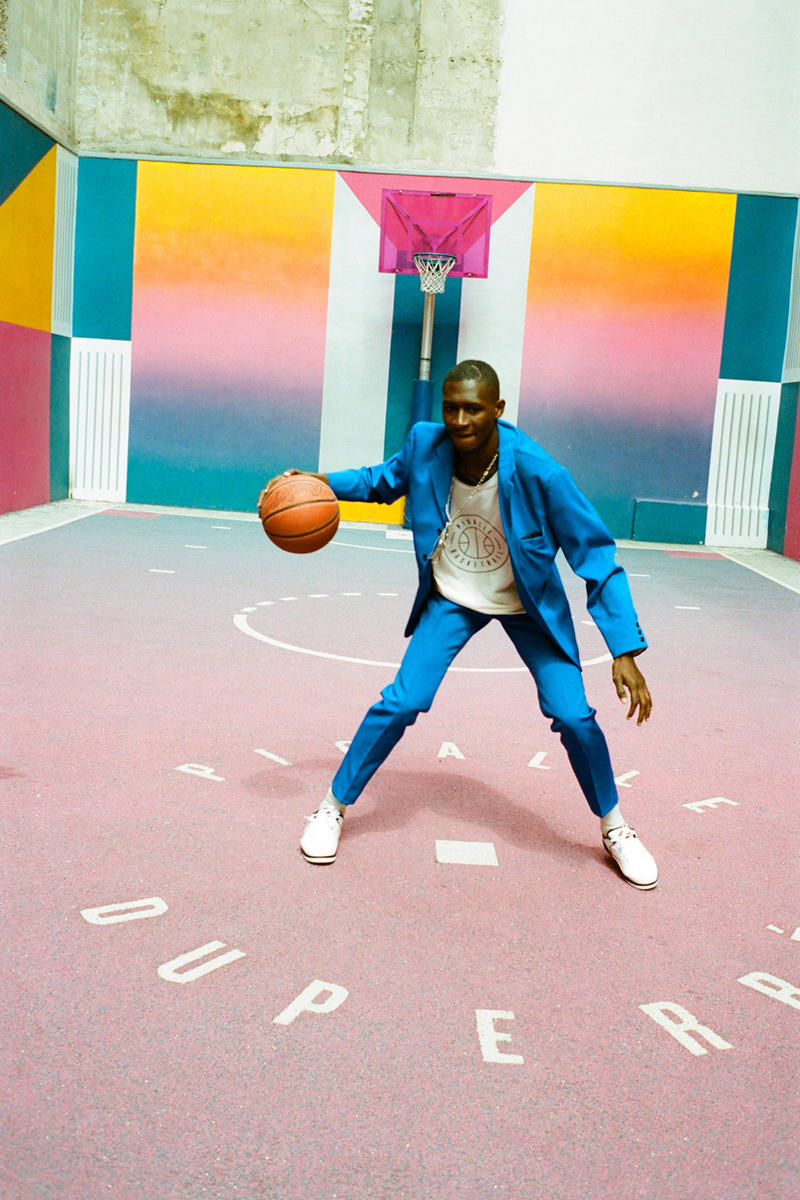 pigalle basketball uniforms spring summer 2018 collection first drop debut Sunset to Duperre collection dexter navy