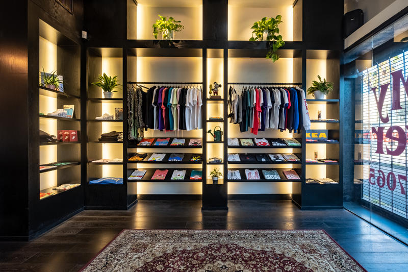 PLEASURES Chinatown Market Retail Store Opening Los Angeles Alex James Mike Cherman