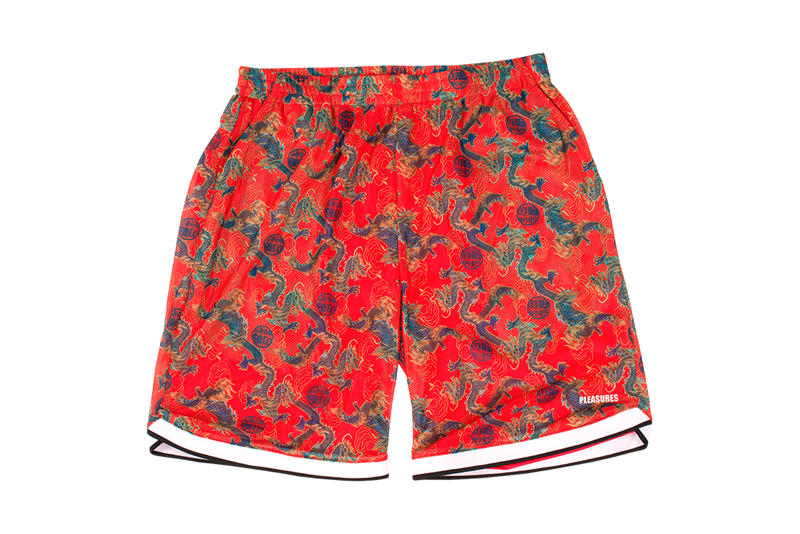PLEASURES Summer 2018 Collection June Drop T Shirt Beach Ball Pencil Shorts Mints