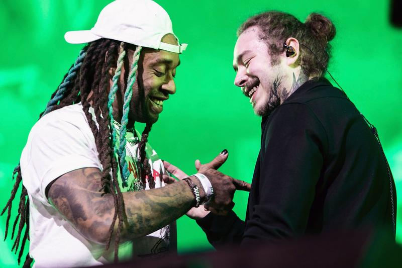 Post Malone Ty Dolla Sign Psycho Billboard Hot 100 No 1 Spot Beerbongs & Bentleys