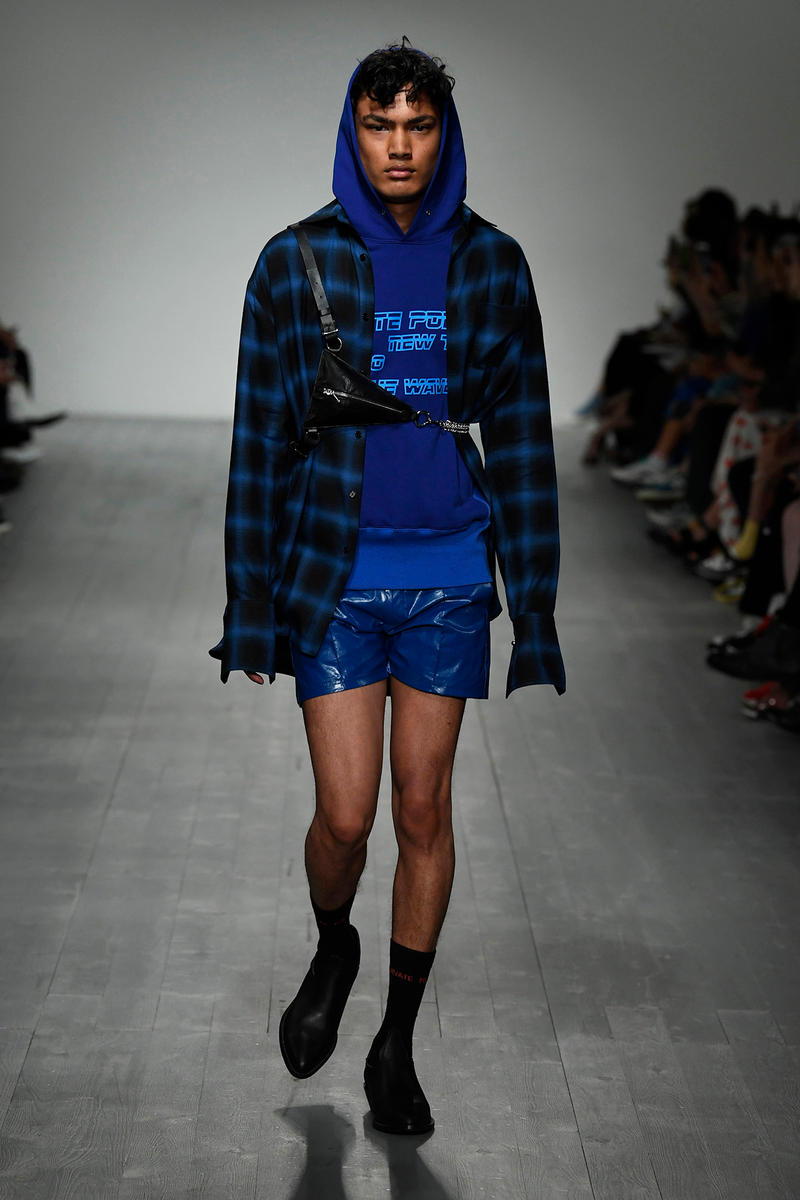 Private Policy Spring Summer 2019 Collection runway london fashion week mens