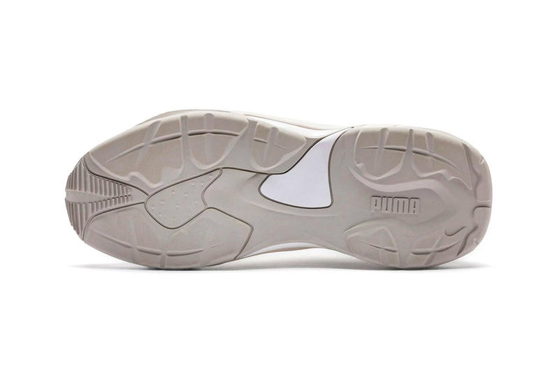 PUMA Thunder Desert 2018 release date info drop sneakers shoes footwear Mint Black White Particle Beige