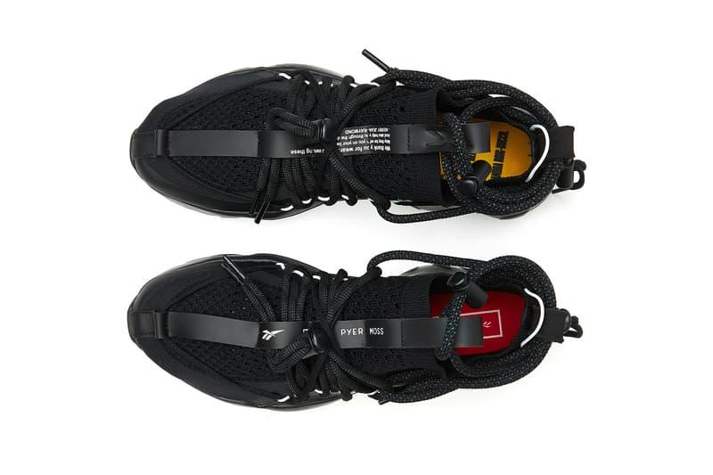 Pyer Moss Reebok dmx fusion experiemtn triple black release date 2018 june footwear