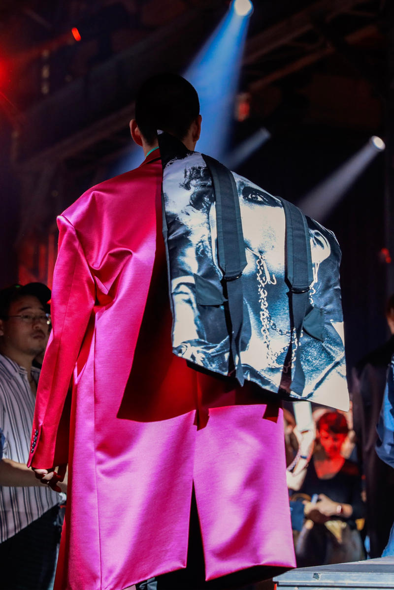 Raf Simons Eastpak Spring/Summer 2019 Bags collection backpack clutch satin release date SS19 paris fashion week