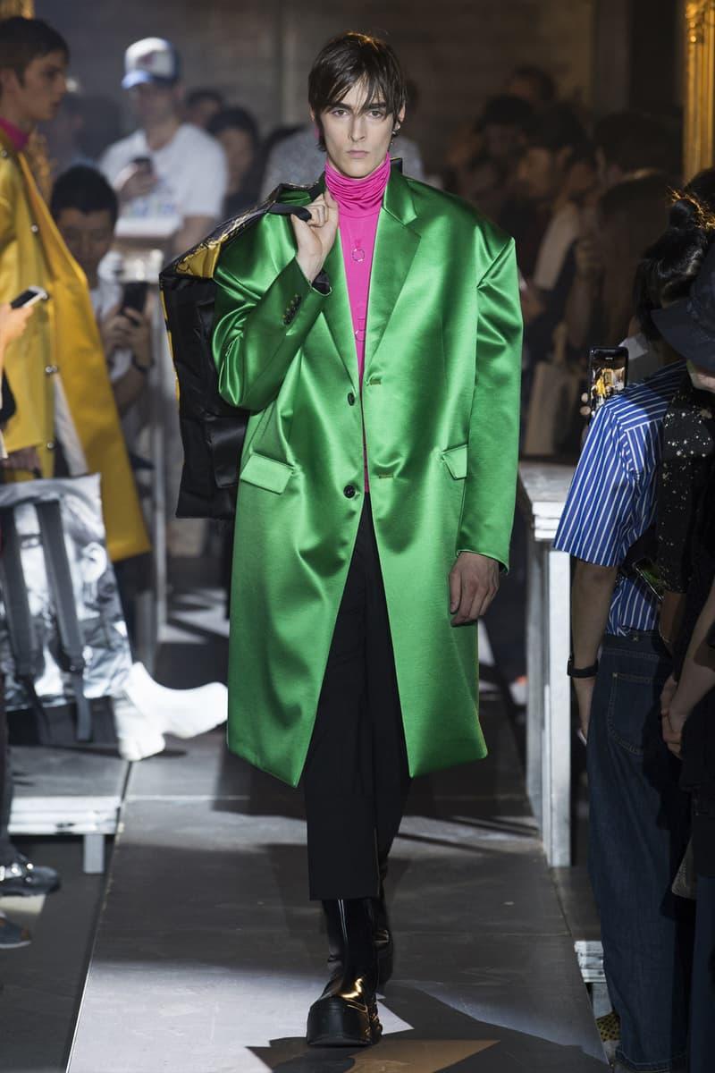 Raf Simons Spring/Summer 2019 Collection Runway show paris fashion week mens adidas ss19
