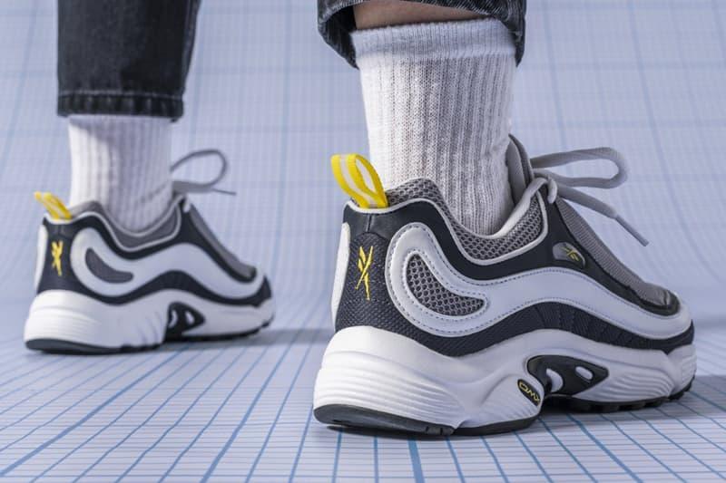 827af6c5f19 Reebok DMX Daytona OG Sneaker Silhouette return chunky clunky runner  90s  style july 6 2018