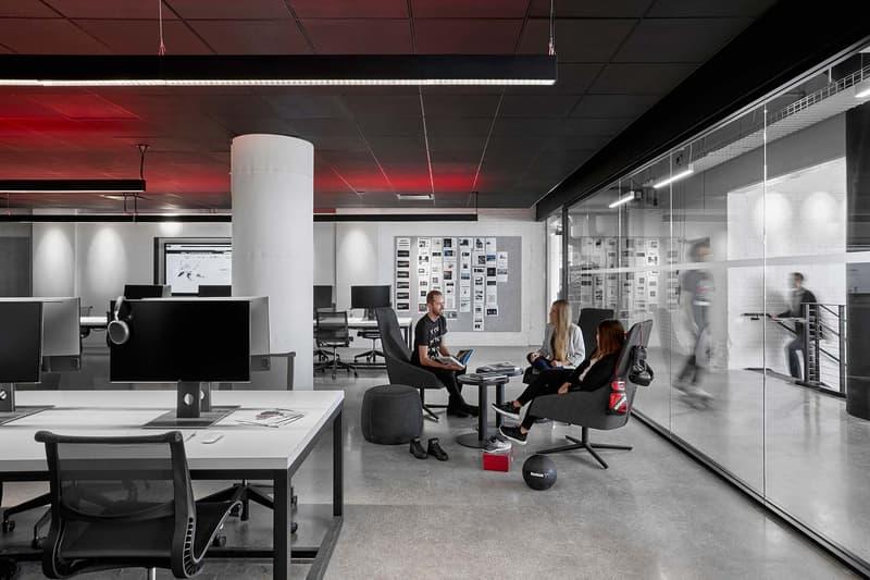 Reebok Headquarters office Boston Seaport District workplace fitness store