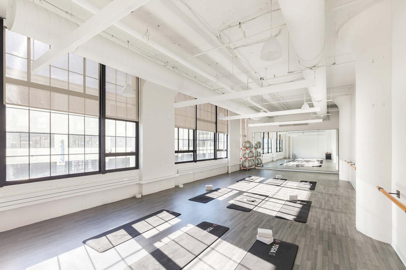 Reebok Headquarters office Boston Seaport District workplace fitness store