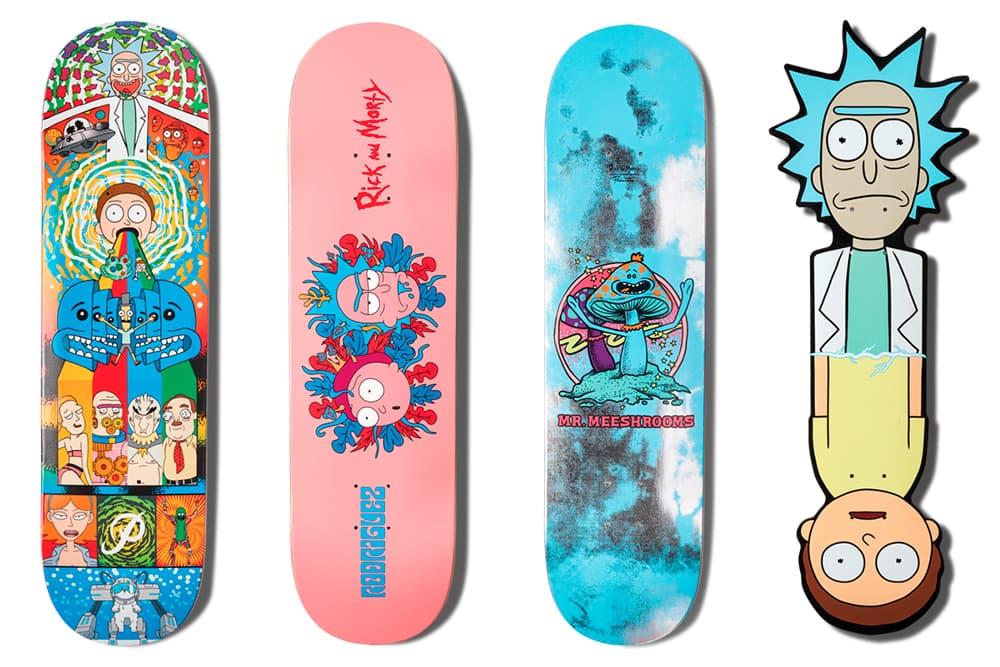 Rick And Morty Primitive Skateboarding Collection Deck T Shirt Jacket Hoodie Hat Cap Clock Mug Wheels