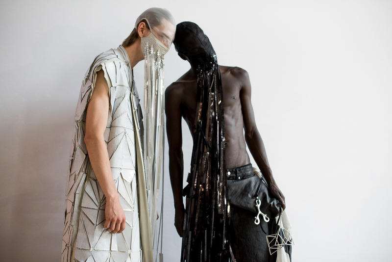 Rick Owens Spring/Summer 2019 Collection Paris Fashion Week Backstage