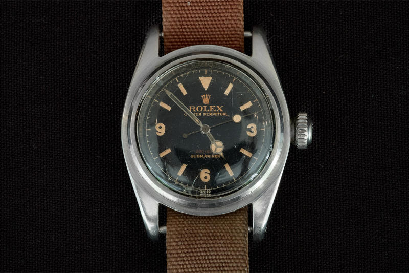 Vintage Rolex Submariner Most Expensive Watch Ever Sold 1 million usd dollars christies auction june 2018