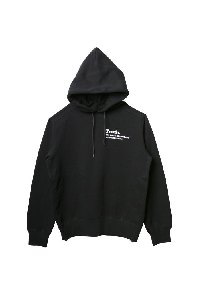 The new york times sacai truth tee shirt hoodie collaboration saks fifth avenue drop release date info june 15 23 2018 fall winter collection
