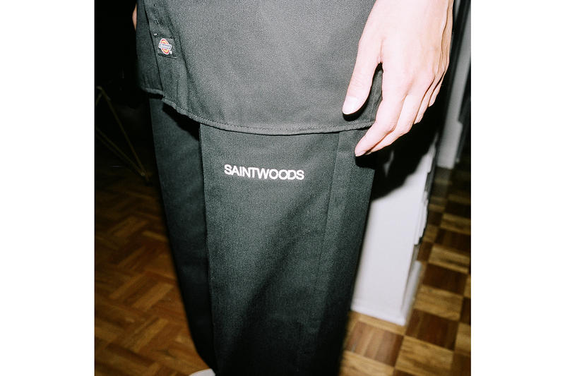 Saintwoods SW.006 collection Lookbook dickies accessories shirts hoodies tracksuits release info