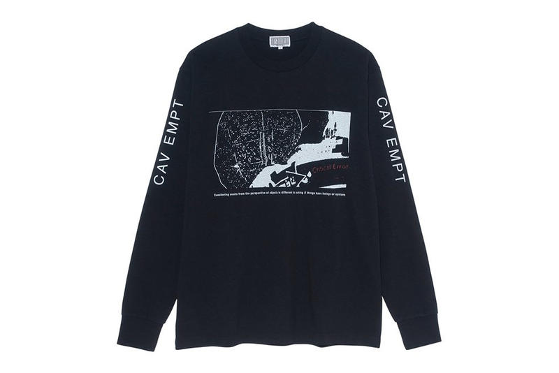Slam Jam Cav Empt The Clothes Themselves Capsule Video Installation Spazio Maiocchi Sweater Long Sleeve T Shirt Short
