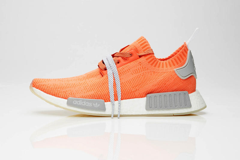 Sneakersnstuff adidas originals NMD_R1 PK Pack Trace Orange Energy Aqua teal blue white june 1 2 2018 release information info date