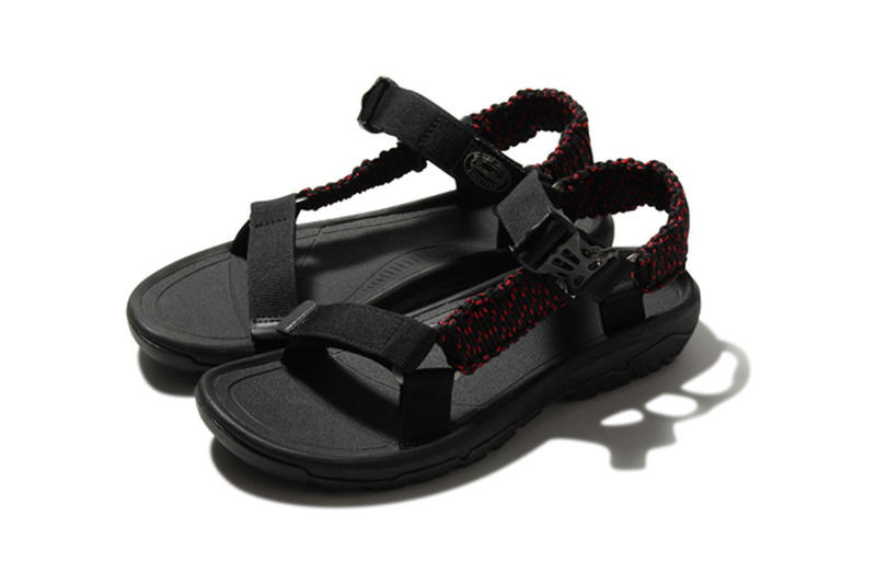 Snow Peak Teva Hurricane XLT2 Pack sandals grey black red june 2018 release date info drop
