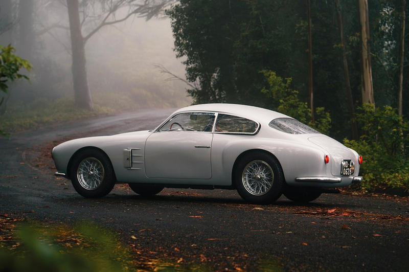 1956 Maserati A6G/2000 Berlinetta Zagato Automotive Cars Rare Classics Sotheby's Italian Automotive Design auction