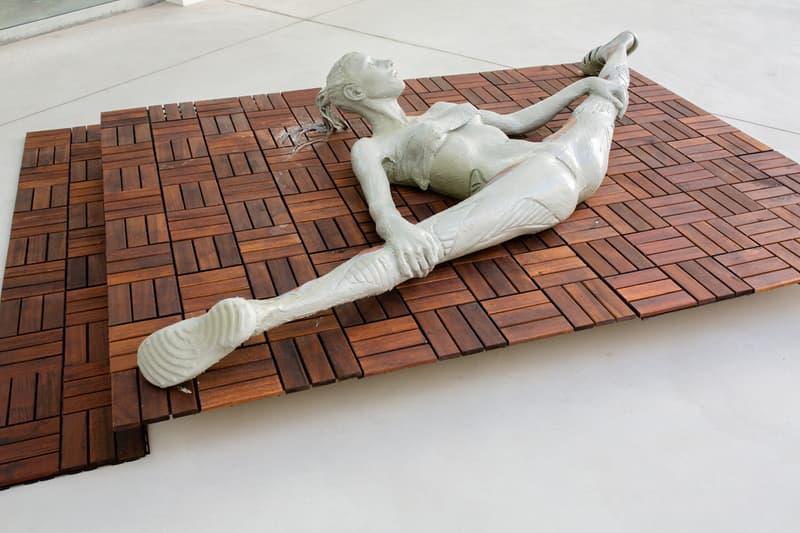 spazio maiocchi slam jam anna uddenburg cav empt exhibition milan fashion week artwork sculptures installation