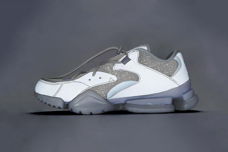 ssense reebok run.r 96 full moon release date 2018 june footwear grey gray silver 3m reflective