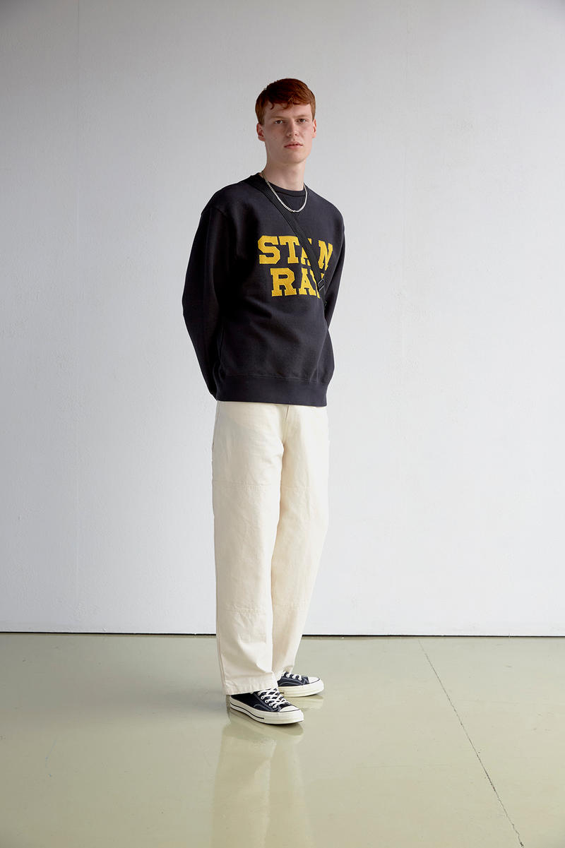 Stan Ray Spring/Summer 2019 Lookbook Collection Shirts Hoodies Jackets Tees T-Shirts Dungarees Overalls Jeans Trousers Pants Patagonia Miles Johnson