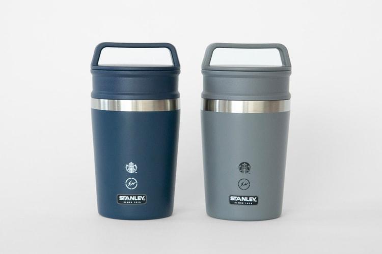 955240c72f5 Starbucks, fragment design & Stanley Join Forces on a Stainless Steel  Bottle Design