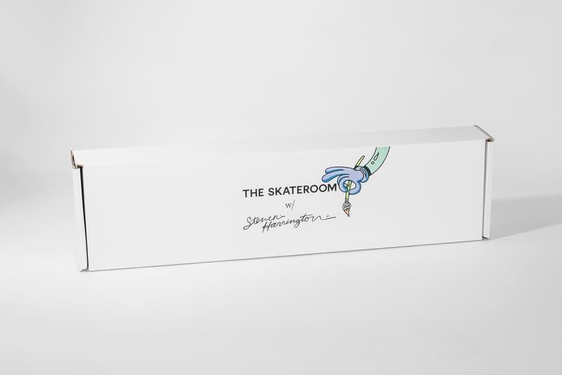 steven harrington skateroom limited decks artworks collectibles contemporary art visual