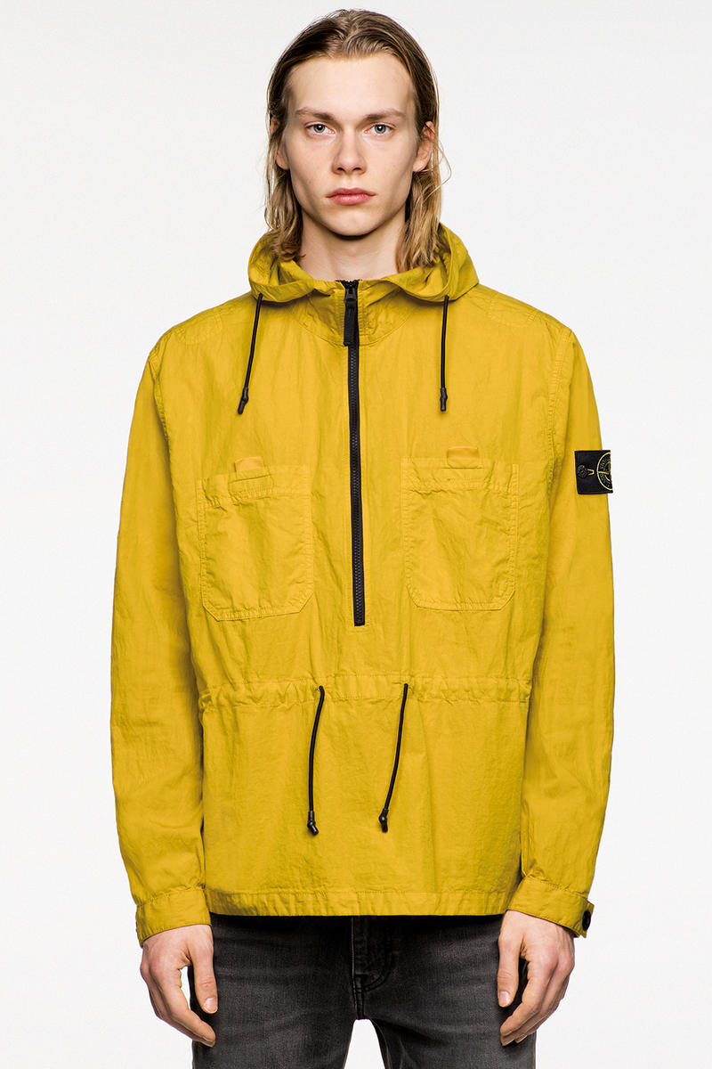 Stone Island Fall Winter 2018 Icon Imagery Lookbook collection