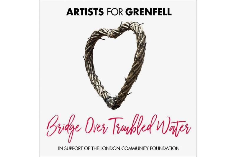 "Bridge Over Troubled Water"" Grenfell Cover stormzy dua lipa craig david charity"